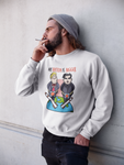 """My Button Is Bigger"" Political Parody Unisex Sweatshirt"