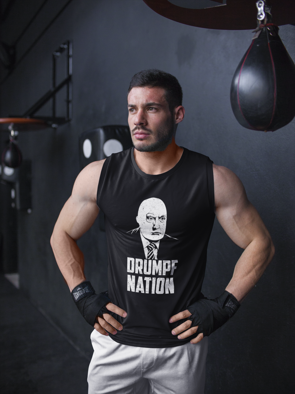 """Drumpf Nation"" Political Parody Unisex Tank Top"