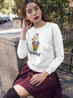 """President Drumpf"" Political Parody Ladies' Long Sleeve Tee"