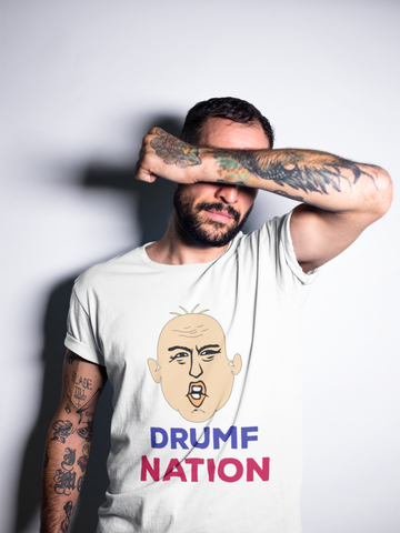 """Drumf Nation"" Political Parody Short-Sleeve Unisex T-Shirt"