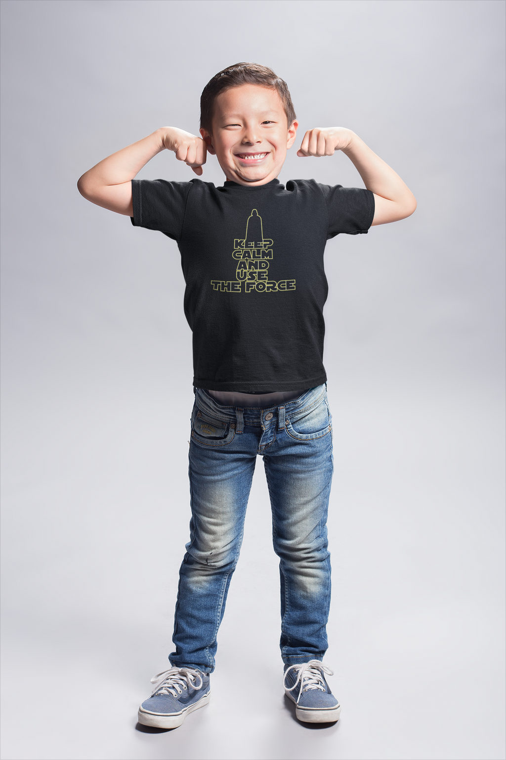 """Keep Calm And Use The Force"" Youth Short Sleeve T-Shirt"