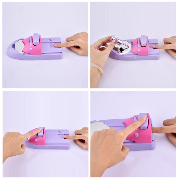 Its Fun And Easy To Create Hundreds Of Salon Designs This Little Nail Stamping Machine Will Save You Tons Money Time