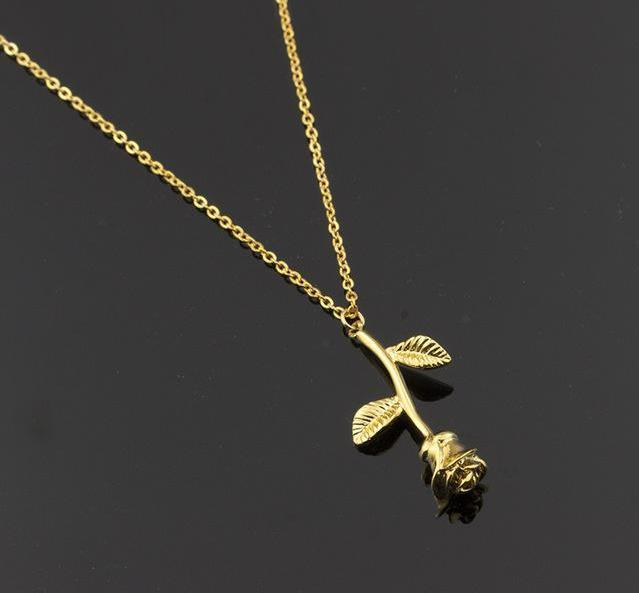 gold itsy rose bitsy annie haak necklace initial