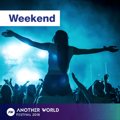WEEKEND FESTIVAL TICKET (3 X DAYS) INC. CAMPING