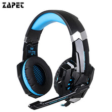 ZAPET Original G9000 3.5mm Game Gaming Headphone Headset Earphone With Mic LED Light For Laptop Tablet / PS4 / Mobile Phones