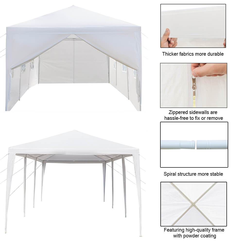 10x30 Canopy - Eight Sides Two Doors - Mcanopy