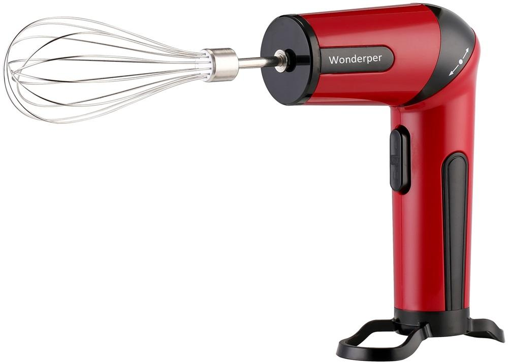 Rechargeable Hand Mixer | Wonderper Rechargeable Cordless Mixer Home & Garden > Kitchen & Dining > Kitchen Appliances > Food Mixers & Blenders Wonderper Red United States