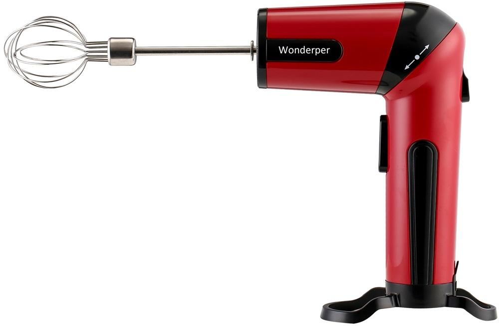 Cordless Beats | Wonderper Electric Cordless Beater Handheld Home & Garden > Kitchen & Dining > Kitchen Appliances > Food Mixers & Blenders Wonderper Red United States