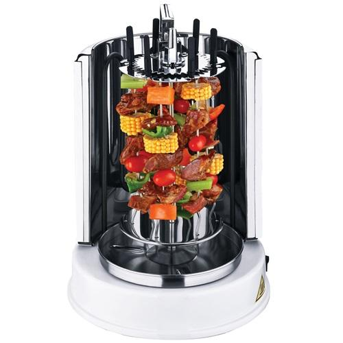 Vertical Rotisserie | Mini Shawarma Machine | KeyTop Vertical Grill | Home Rotisserie | Asador Vertical | Electric Rotisserie Grill | Rotisserie Oven Home & Garden > Kitchen & Dining > Kitchen Appliances > Roaster Ovens & Rotisseries Wonderper
