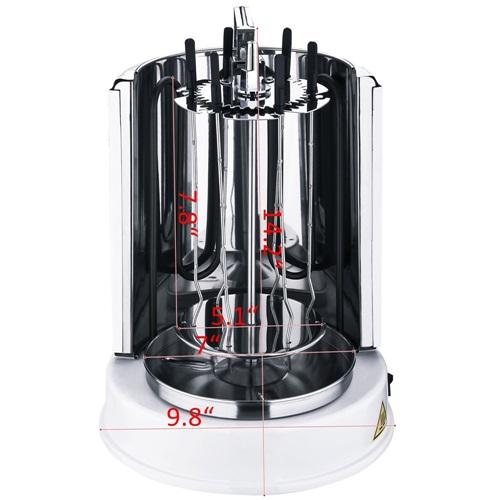 Wonderper Vertical Rotisserie | Mini Shawarma Machine Vertical Grill - KTsale