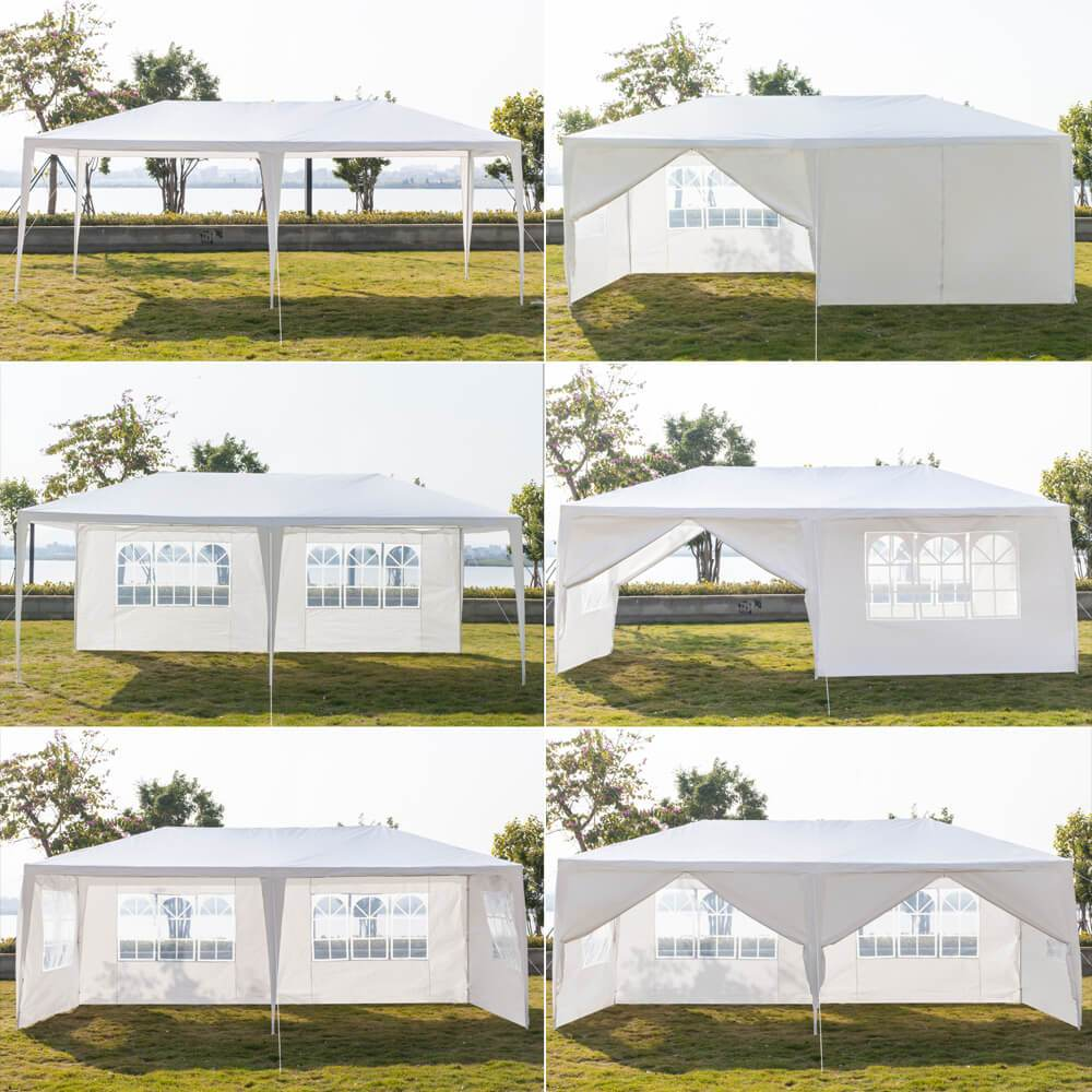 Outdoor Canopy | 10 By 20 Canopy - Six Sides Two Doors - Mcanopy