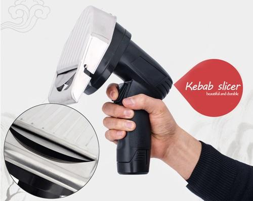 Cordless Kebab Slicer | Gyro Slicer | KeyTop Cordless Kebab Knife | Gyro Cut | Gyro Knife | Shawarma Knife | Doner Knife | Shawarma Cutter Home & Garden > Kitchen & Dining > Kitchen Tools & Utensils > Kitchen Knives > Cordless Kebab Knife KeyTop
