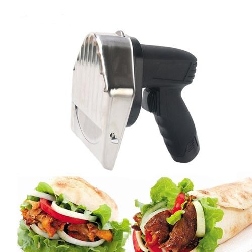 Battery Powered Gyro Knife | Keytop 60KG Per Hour Cordless Battery Kebab Slicer Cutter Home & Garden > Kitchen & Dining > Kitchen Tools & Utensils > Kitchen Knives > Cordless Kebab Knife KeyTop