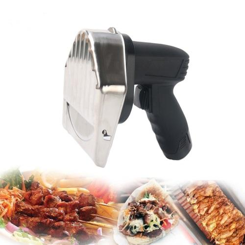 Battery Powered Gyro Knife | Keytop 60KG Per Hour Cordless Battery Kebab Slicer Cutter