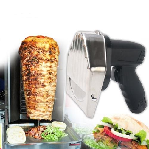 Shawarma Shavers | Keytop Kebab Cordless Wireless Doner Cutter Knife Slicer Shawarma Gyros Rechargeable Home & Garden > Kitchen & Dining > Kitchen Tools & Utensils > Kitchen Knives > Cordless Kebab Knife KeyTop