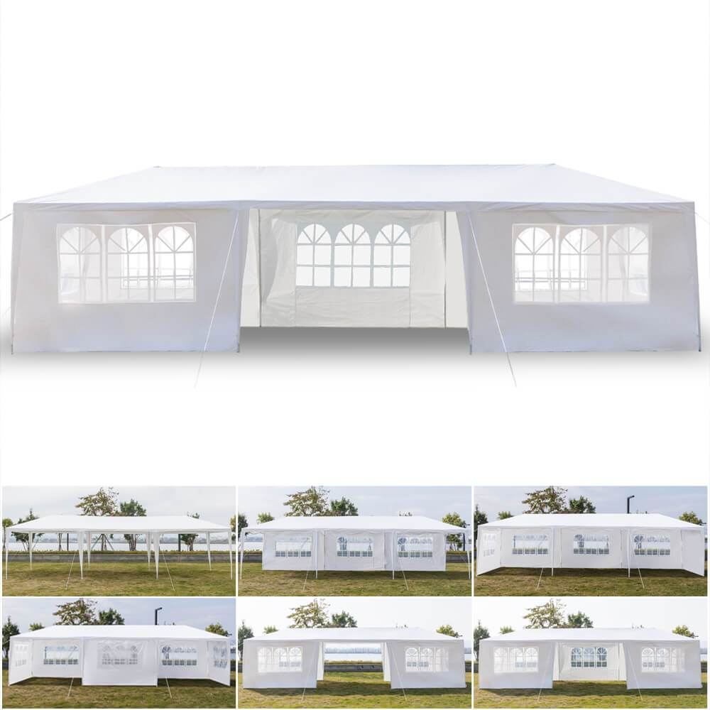 10x30 Party Tent - Seven Sides - Mcanopy