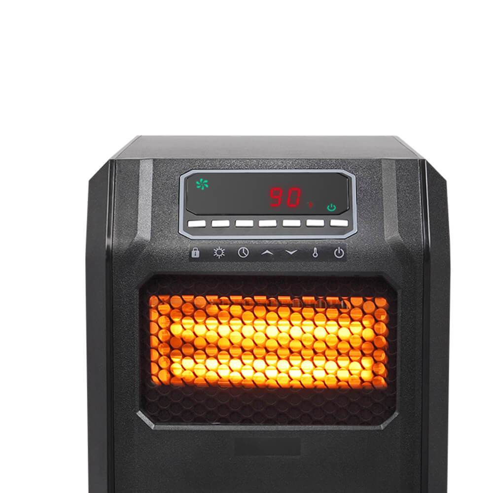 Infrared Heater | ZOKOP Portable Space Heater - Black/1500W