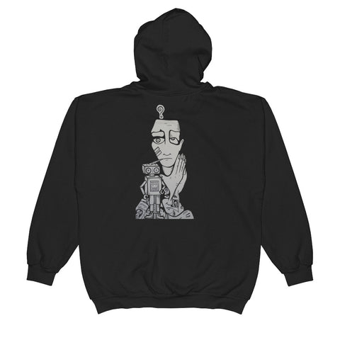 """Pray Spraint""  Zip Up Hoodie w/ 5t33d front logo"