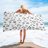 """Eyes On You"" Towel"