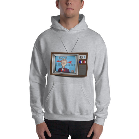 """News"" Hooded Sweatshirt"