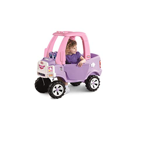 Little Tikes Princess Cozy Truck Ride-On, Pink Truck: Toys & Games - Little Treasures LLC