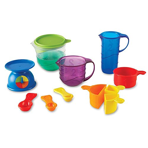 Learning Resources Mix And Measure Activity Set, Experiment Mixing Tools, 22 Pieces, Ages 3+: Toys & Games - Little Treasures LLC
