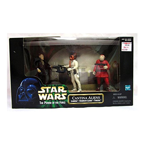 Hasbro Star Wars - Power of The Force - Cantina Aliens - Labria, Nabrun Leids, Takee: Toys & Games - Little Treasures LLC
