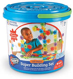 Learning Resources Gears! Gears! Gears! Super Building Toy Set, 150 Pieces, Ages 4+: Toys & Games - Little Treasures LLC