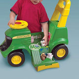 John Deere Sit N Scoot Activity Tractor: Toys & Games - Little Treasures LLC