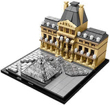 LEGO Architecture 21024 Louvre Building Kit: Toys & Games - Little Treasures LLC