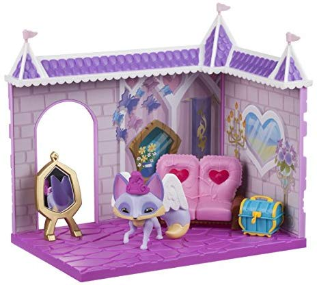 Animal Jam Princess Castle Den With Limited Edition Fancy Fox Playset: Toys & Games - Little Treasures LLC