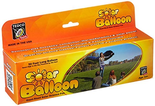 TEDCO Tedcotoys Kids Activity 50-Foot Solar Balloon: Toys & Games - Little Treasures LLC