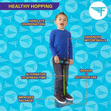 Flybar My First Foam Pogo Jumper for Kids Fun and Safe Pogo Stick, Durable Foam and Bungee Jumper for Ages 3 and up Toddler Toys, Supports up to 250lbs (Blue): Toys & Games - Little Treasures