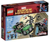 LEGO Super Heroes Spider-Cycle Chase 76004 (Discontinued by manufacturer): Toys & Games - Little Treasures LLC