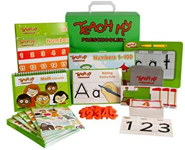 Teach My Preschooler: Toys & Games - Little Treasures LLC