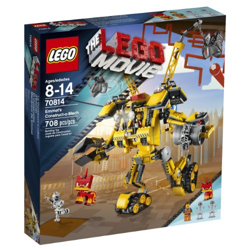 LEGO Movie 70814 Emmet's Construct-o-Mech Building Set(Discontinued by manufacturer): Toys & Games - Little Treasures LLC