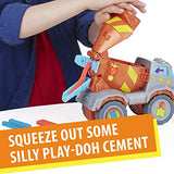 Play-Doh Max The Cement Mixer Toy Construction Truck with 5 Non-Toxic Colors, 2-Ounce Cans (Amazon Exclusive): Toys & Games - Little Treasures LLC