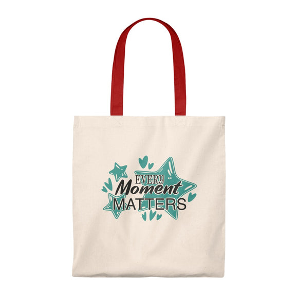 Tote Bag - Vintage (Every Moment Matters) - Little Treasures LLC