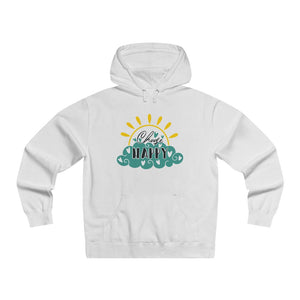 Men's Lightweight Pullover Hooded Sweatshirt - Choose Happy - Little Treasures LLC