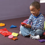 Educational Insights Shapes Beanbags – Educational Toy for Toddlers, Sensory Toy for Preschoolers: Toys & Games - Little Treasures LLC