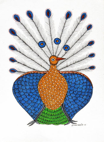 Dwarka Paresh-Traditional Art-Gond Painting-8