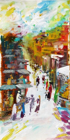 Malviya-Contemporary Art-Knife Painting-9