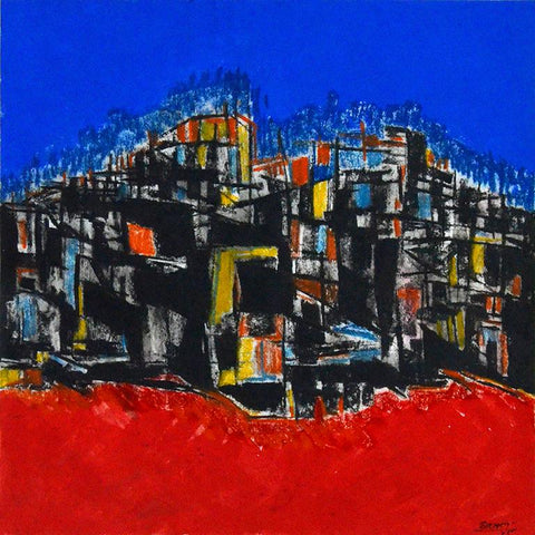 Saroj-Contemporary Art-Abstract Painting-2