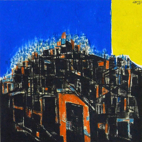 Saroj-Contemporary Art-Abstract Painting-4