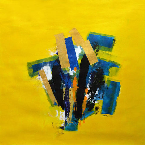 Sanjay Prajapati-Contemporary Art-Abstract Painting-1