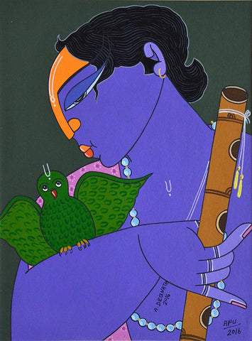 Apu Debnath-Contemporary Art-Figurative Art-1