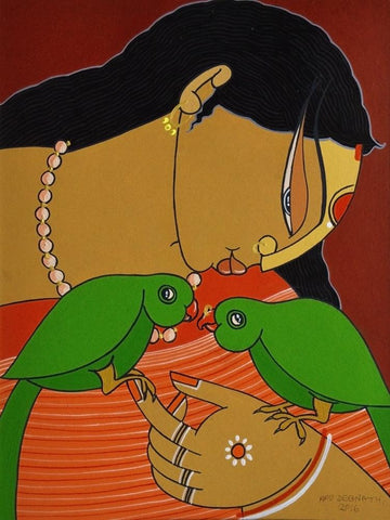 Apu Debnath-Contemporary Art-Figurative Art-2