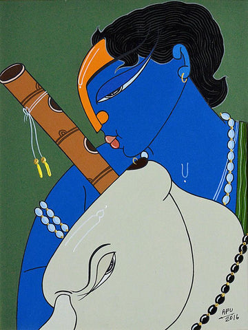 Apu Debnath-Contemporary Art-Figurative Art-4