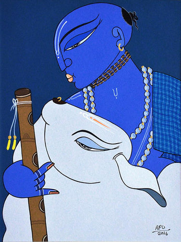 Apu Debnath-Contemporary Art-Figurative Art-5