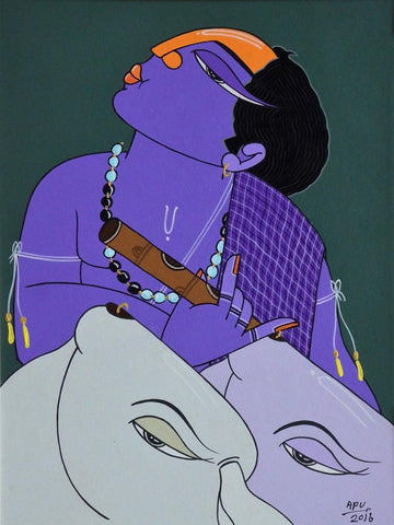 Apu Debnath-Contemporary Art-Figurative Art-6
